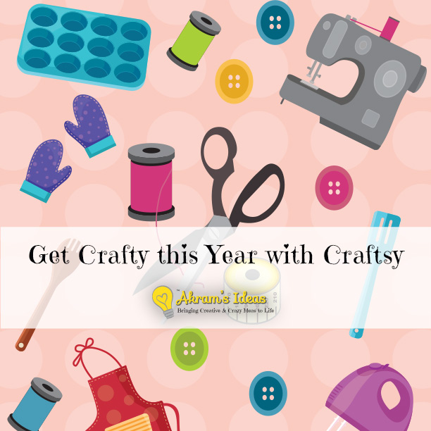 Akram's Ideas: Get Crafty with Craftsy