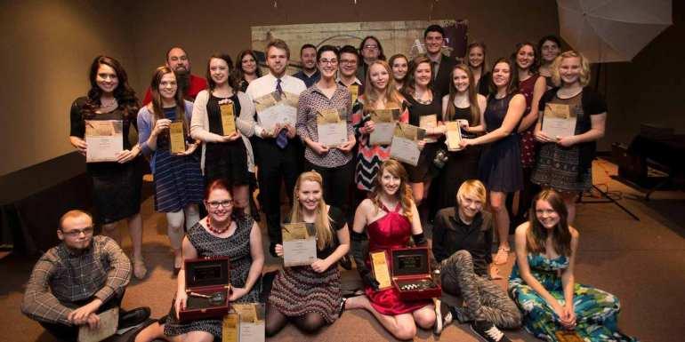 2014 PSU Student AAF Award Winners