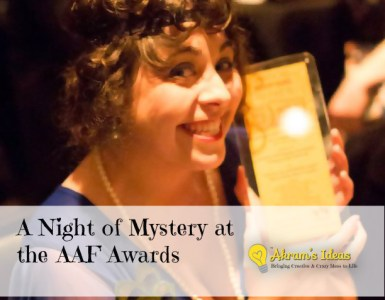 A Night of Mystery at the AAF Awards