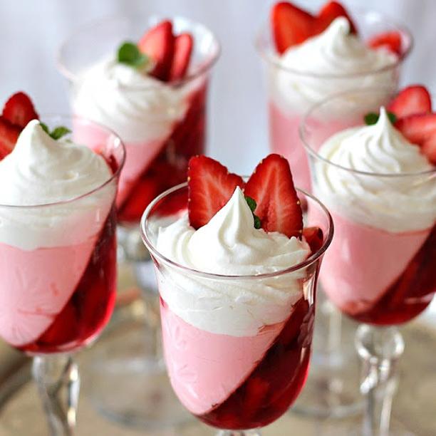 Grateful Prayer and Thankful Heart's Strawberry Parfait