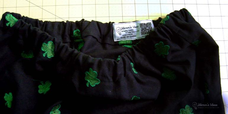 Lucky skirt waistband