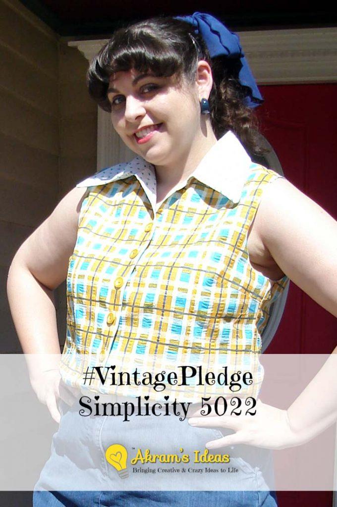 #VintagePledge Simplicity 5022