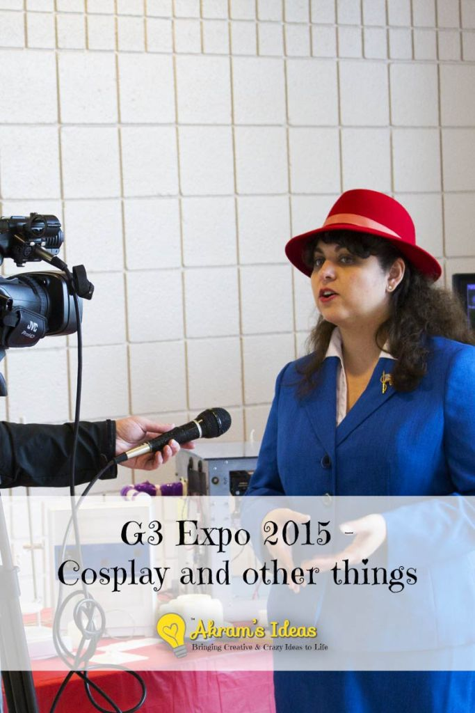 G3 Expo 2015 - Cosplay and other things
