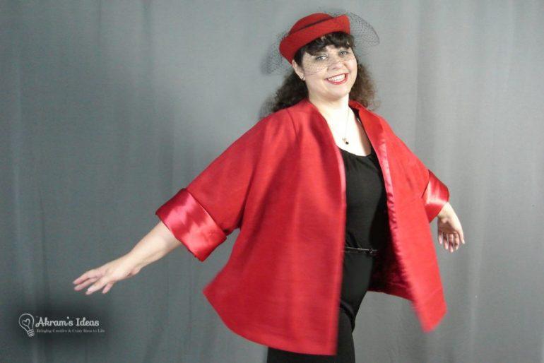 My fabulous fleece swing coat