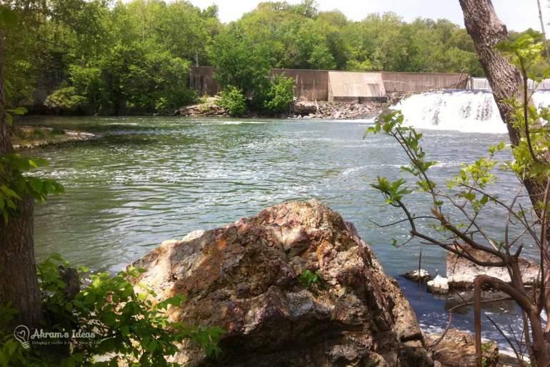 Scenery of Grand Falls