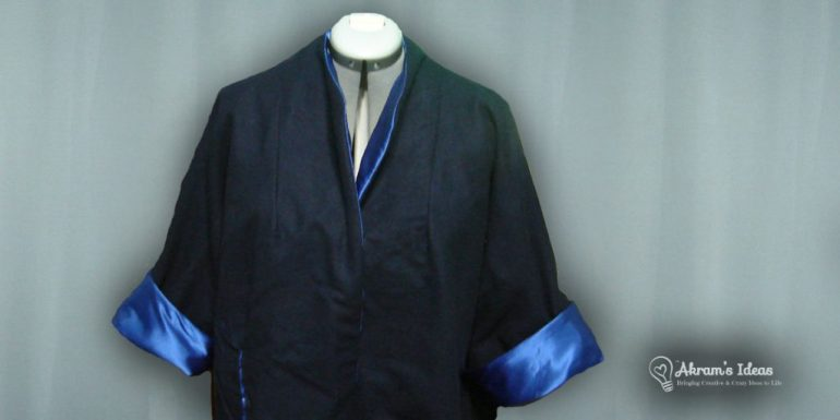 My trial run at making the coat