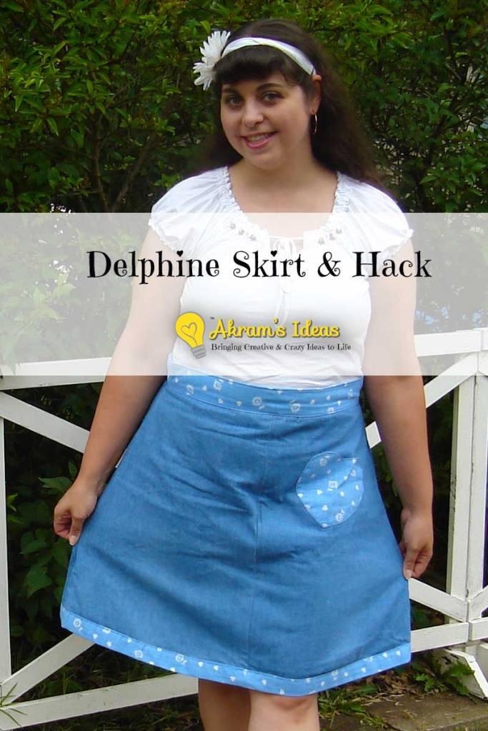 Akram's Ideas : Delphine Skirt & Hack