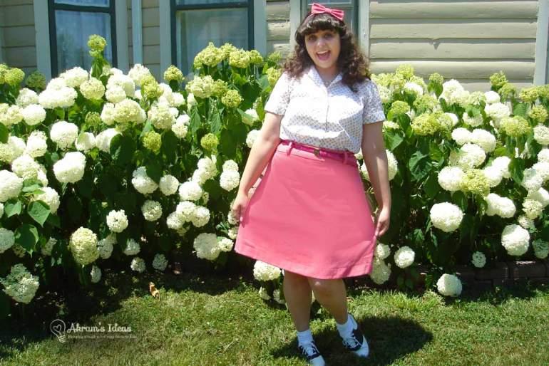 My Pink Delphine Skirt