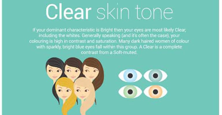 What color to wear with your skin tone - click to see more