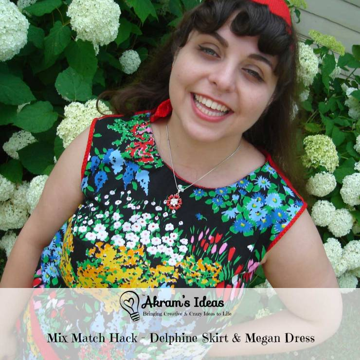 Akram's Ideas: Mix & Match Hack - Delphine skirt & Megan dress