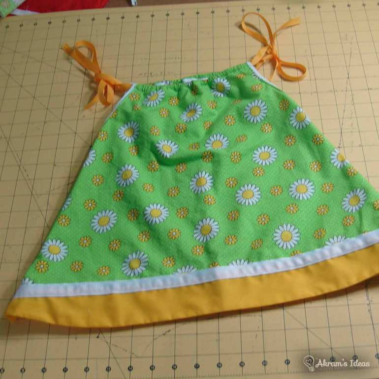 Fun contrasting fabrics