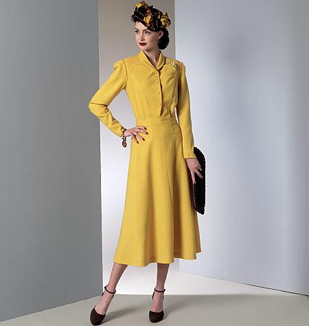 Vintage Vogue V9127 - circa 1939