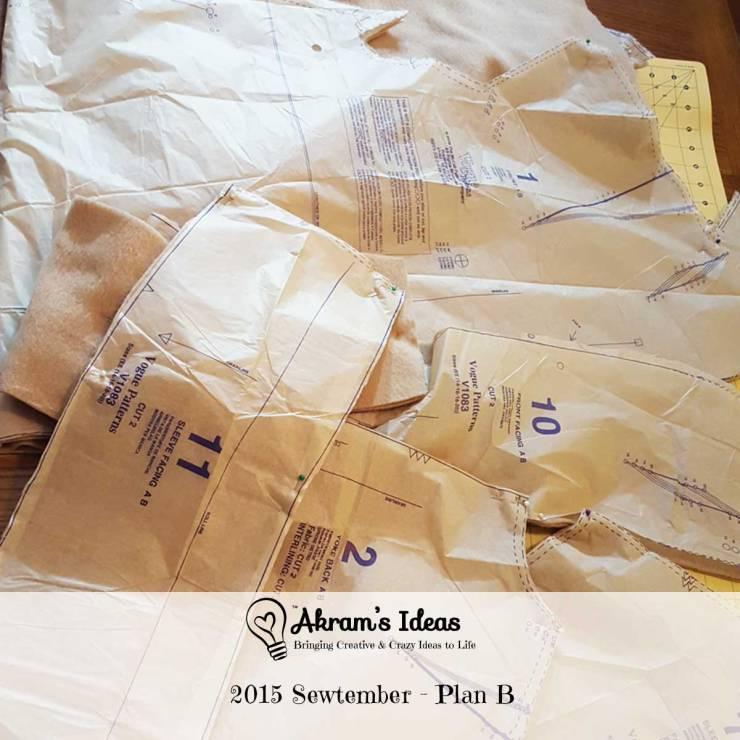 Akram's Ideas : 2015 Sewtember - Plan B
