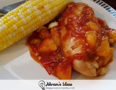 Akram's Ideas: Peach BBQ Chicken