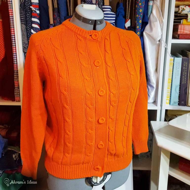 Pumpkin Colored Sweater