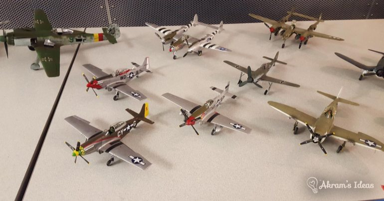 Akram's Ideas: Model WWII Warbirds