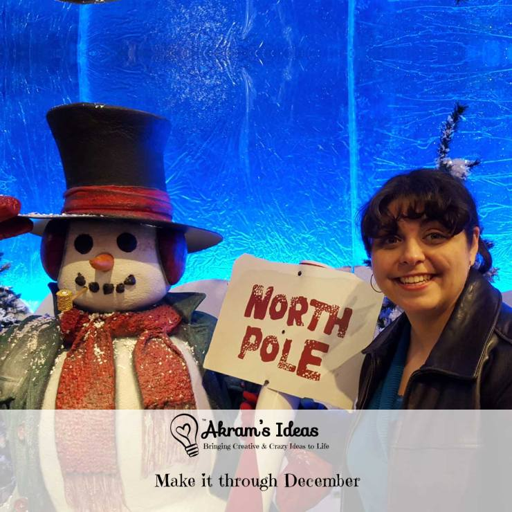 Akram's Ideas : Make it through December