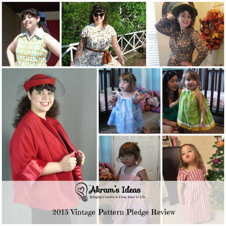 Akram's Ideas: 2015 #VintagePlege Review