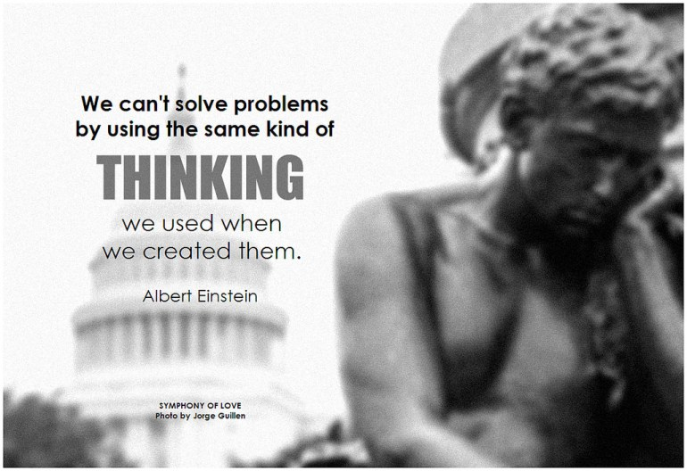 Solve problems by thinking