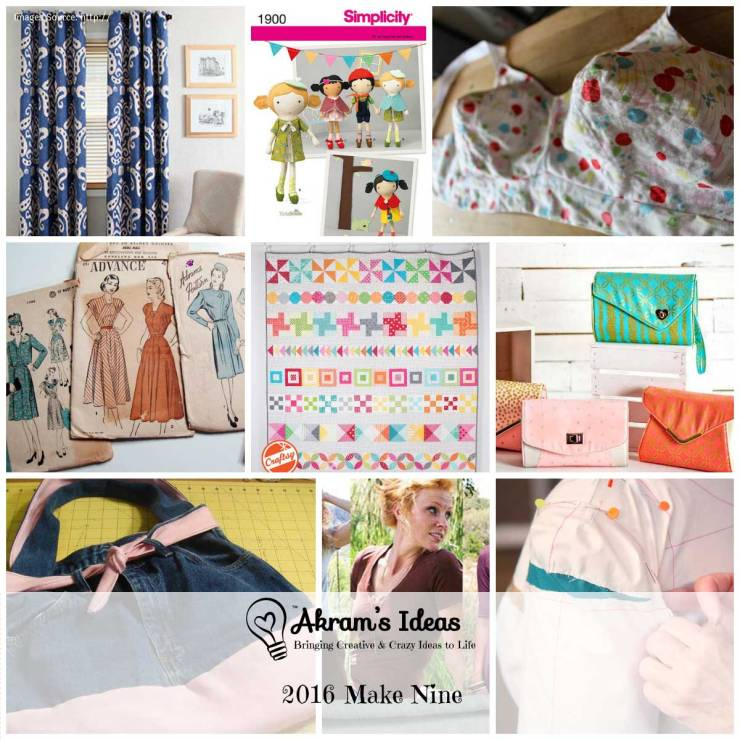 Akram's Ideas: 2016 Make Nine