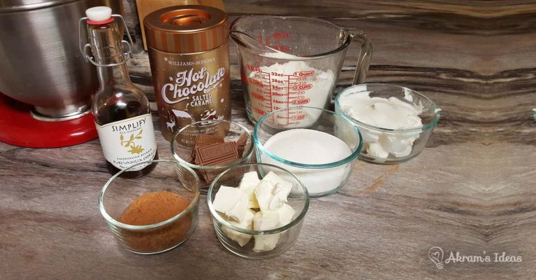 Akram's Ideas: Williams-Sonoma's Salted Caramel Hot Chocolate Cookies Ingredients
