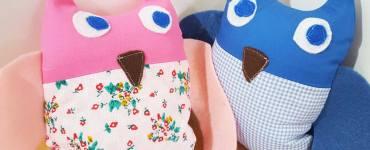 Akram's Ideas: Free Pattern - Tulip & Blueberry Owl Stuffie