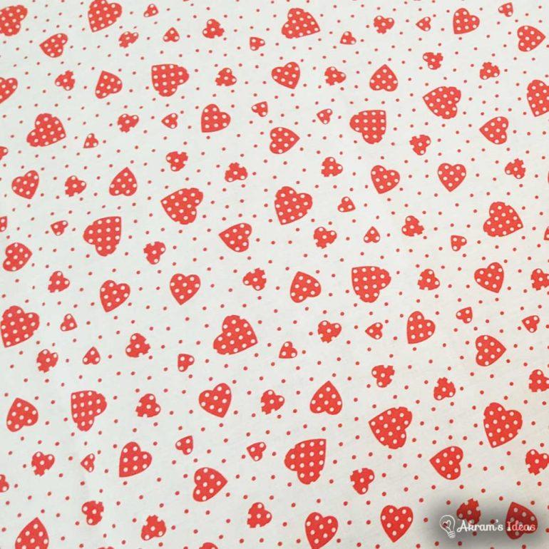 Akram's Ideas: Heart Fabric