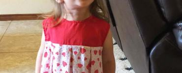 Akram's Ideas: Layla's Valentine Dress - McCall's 3174