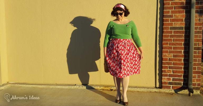Akram's Ideas : Modcloth Baking Spirits Bright Skirt