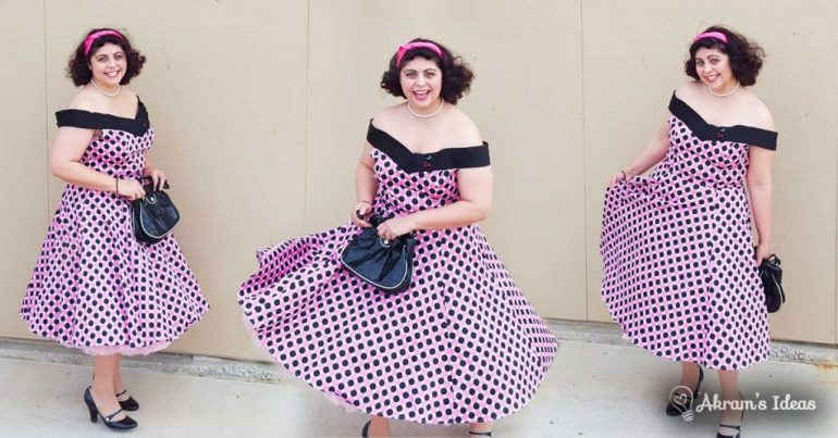 Akram's Ideas: Modcloth Boston Dream Pie Dress