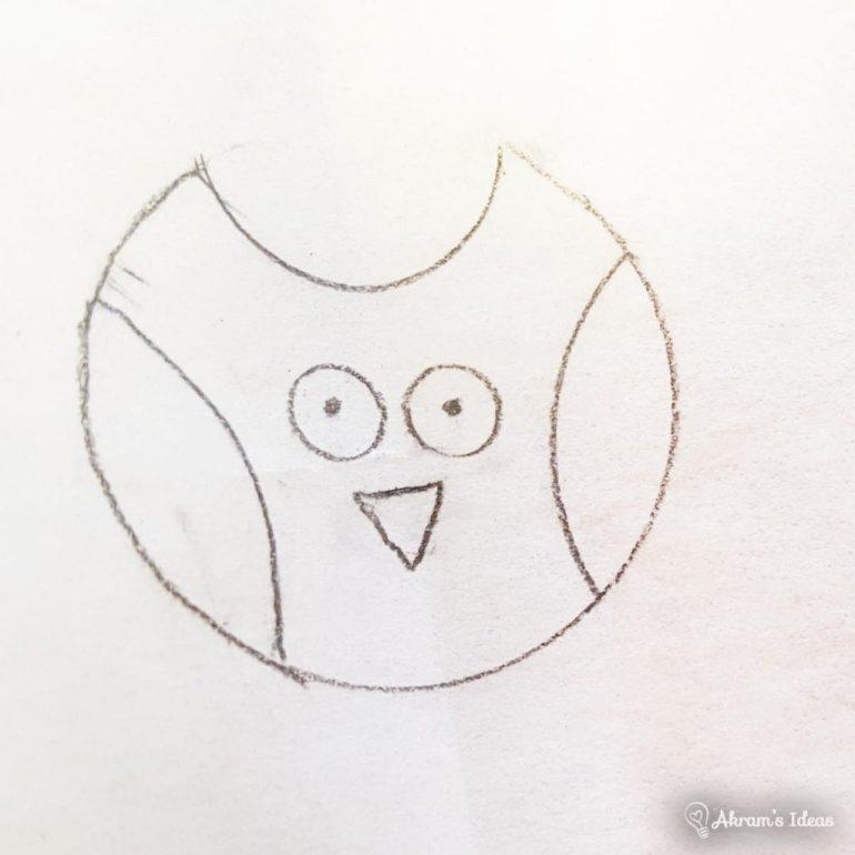 Akram's Ideas - Owl Sketch