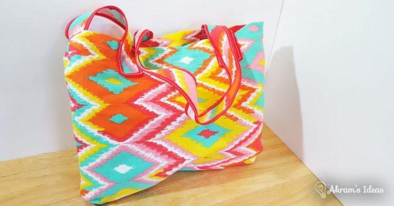 Colorbalst mini tote bag