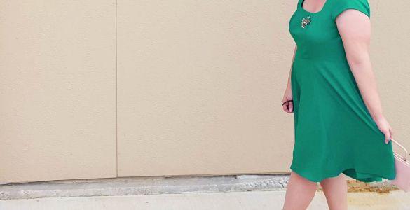 Akram's Ideas: Shamrock Cornerstone of Classy Dress from Modcloth