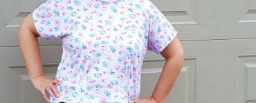 Akram's Ideas: First T-shirt - Simplicity 1692