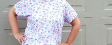 Akram's Ideas: First T-shirt - Simplicity 1692
