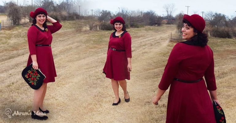 Akram's Ideas: Modcloth Office to Outing Dress