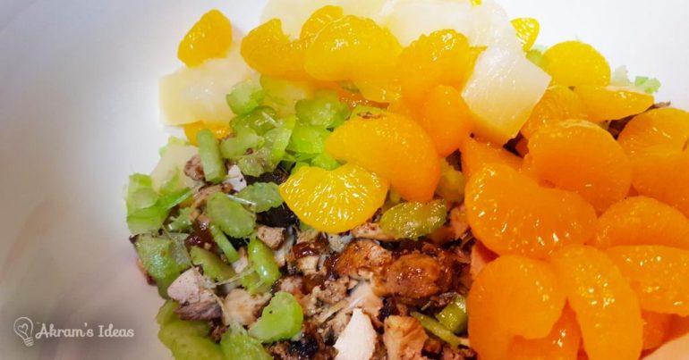 Akram's Ideas: Teriyaki Chicken Salad Ingredient