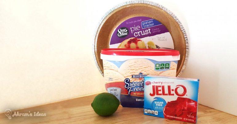 Cherry Limeade Pie ingredients