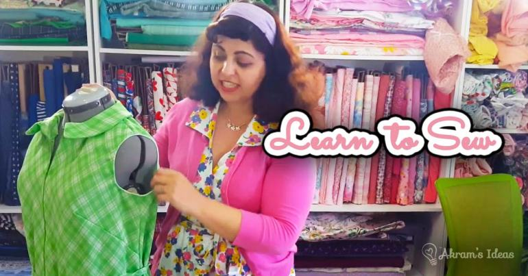 Akram's Ideas : Learn to Sew - Bias Tape Teaser