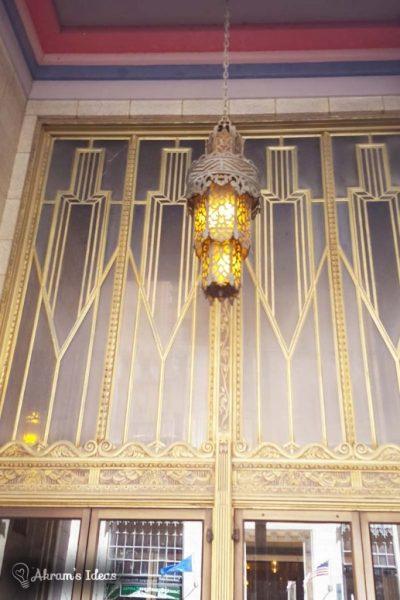 Vestibule Lighting of the Philcade Building