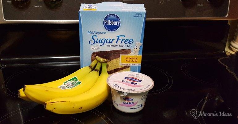 Akram's Ideas: Healthy Cake Mix Alternative