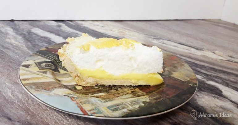 Akram's Ideas: When Life Give you Lemons make lemon Meringue Pie