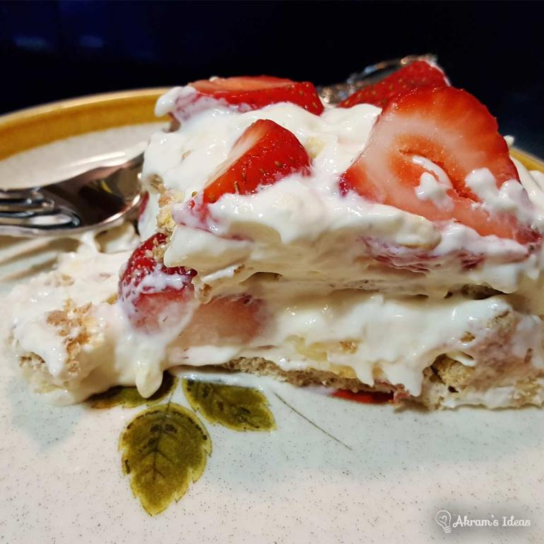 Recipe for an easy no-bake strawberry cheesecake to take to your next get together or potluck. Recipe for an easy no-bake strawberry cheesecake to take to your next get together or potluck.