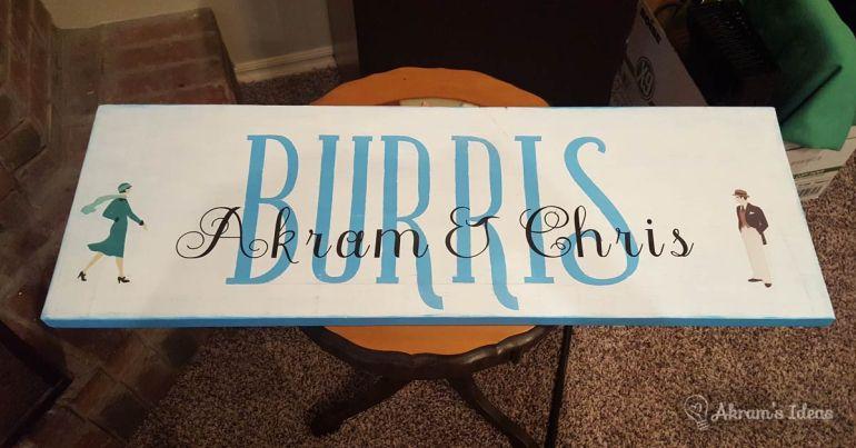 Akram's Ideas: Burris Painting by Misty Peery