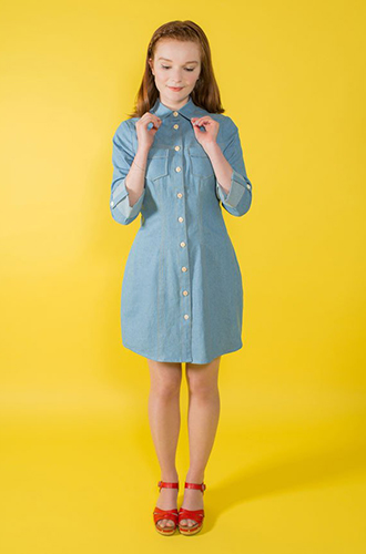 Tilly and The Buttons Rosa Shirt Dress
