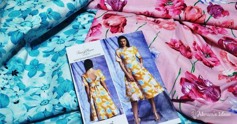 My #EasterSpringDress2017 project Vogue 1397