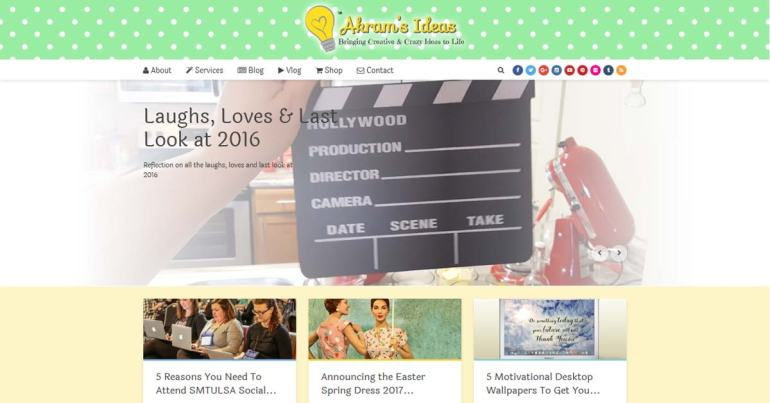 Akram's Ideas 2017 new Layout