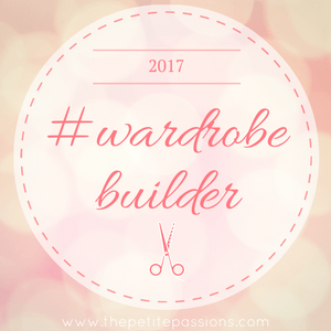 The #wardrobebuilder project by The Petite Passions.