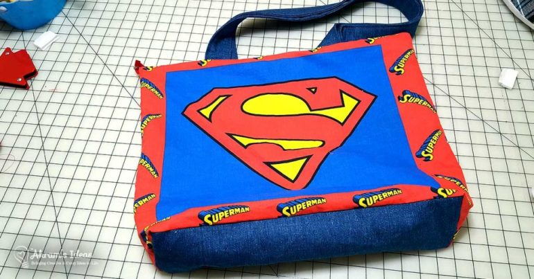 Akram's Ideas: Superman Purse