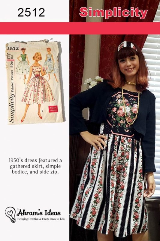 Akram's Ideas: Vintage Pledge Simplicity 2512
